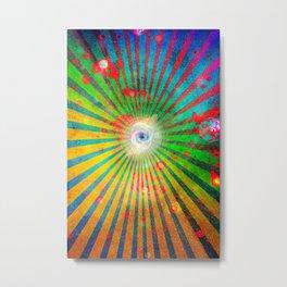 Spatterverse Metal Print