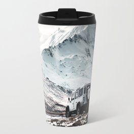 on the road in iceland Travel Mug