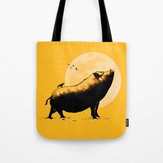 barking pig Tote Bag