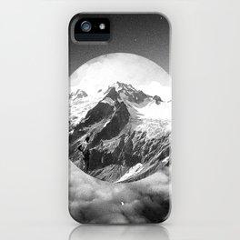 Cielo grigio e pungente iPhone Case
