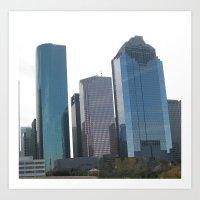 Houston II Art Print