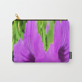 366 - Abstract Flower Design Carry-All Pouch