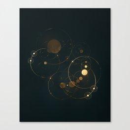 Day 1127 /// Cosmic Volume Overlap Canvas Print