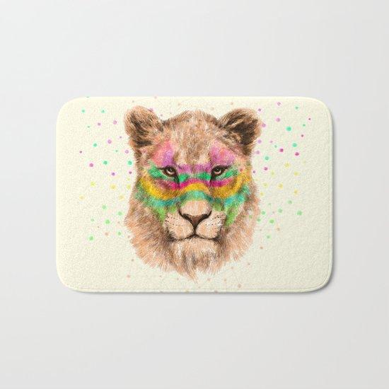 Lioness II Bath Mat