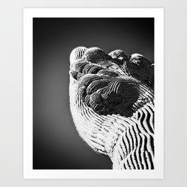 """Cristate Saguaro 7b"" by Murray Bolesta! Art Print"