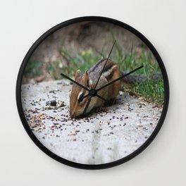 Chipmunk Wall Clock