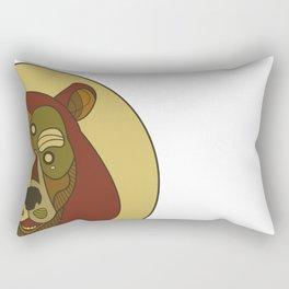 Benk Brown Rectangular Pillow
