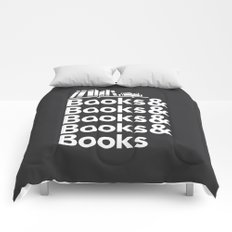 Books & Books & Books Comforters