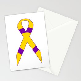 Intersex Ribbon v2 Stationery Cards