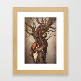 I love you, Old Tree! Framed Art Print