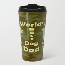 World's Best Dog Dad Travel Mug