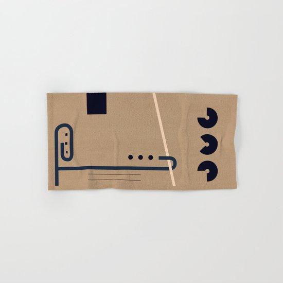 Abstract #193 Hand & Bath Towel