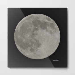 Tara's Moon Metal Print