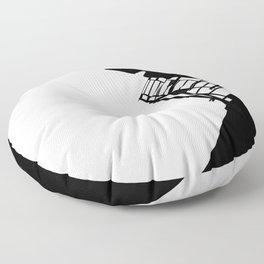 New York Fire Escape Floor Pillow