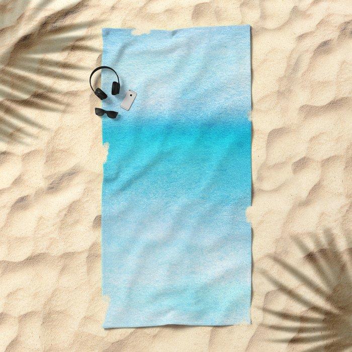 Tropical sea #9 Beach Towel