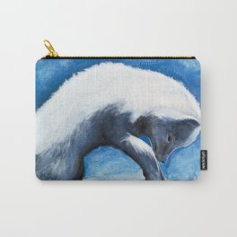 Animal - Antoine the Artic Fox - by LiliFlore Carry-All Pouch