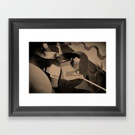 Gadite Warriors (by Andrew Lyons) Framed Art Print
