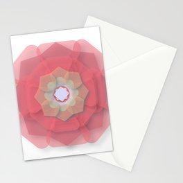 Pink Floral Meditation Stationery Cards