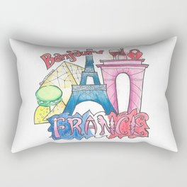 FRANCE Rectangular Pillow