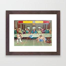 Dinner Theatre Framed Art Print
