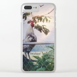 """"""" Wake Up Call """" Clear iPhone Case"""
