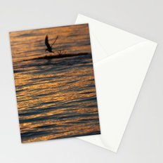 water sunset  Stationery Cards