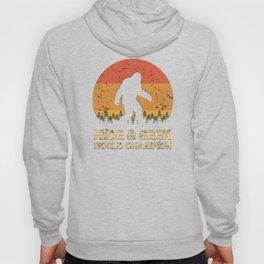 Vintage Hide And Seek World Champion Bigfoot Sasquatch Hoody