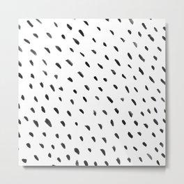 Dashed dots Metal Print