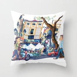 La Campana Throw Pillow