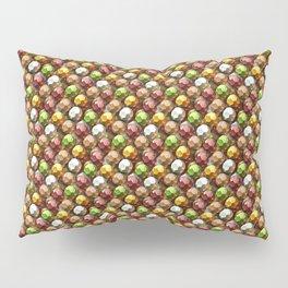 Metallic Beads Pattern Pillow Sham