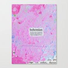 bohemian Canvas Print