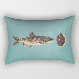 Irresistible Bait  Rectangular Pillow