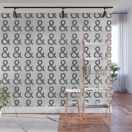 Helvetica Ampersand - Happy National & Day! Wall Mural