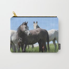 Thoroughbred Arab Cross Photography Print Carry-All Pouch