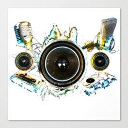 Speaker Boom Canvas Print