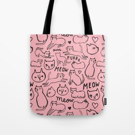 Meow Cats Tote Bag