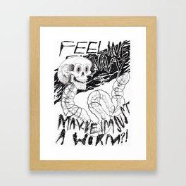 Feeling Funny  Framed Art Print
