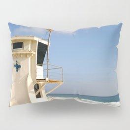 Laguna Beach Lifeguard Tower Pillow Sham