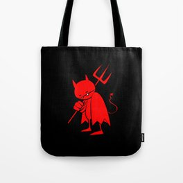 minima - sad devil Tote Bag
