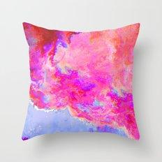 Rose Nebula Throw Pillow