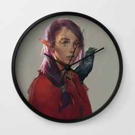 Elf Wall Clock