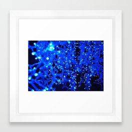 Christmas Blues Framed Art Print