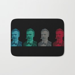 Friedrich Nietzsche Bath Mat