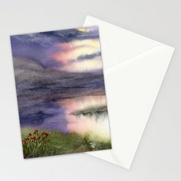 Intense Sky Stationery Cards