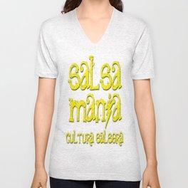 Salsa Mania Unisex V-Neck