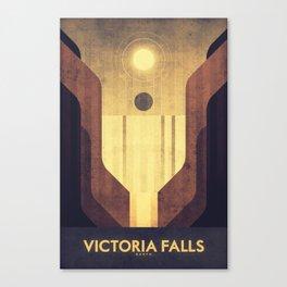 Earth - Victoria Falls Canvas Print