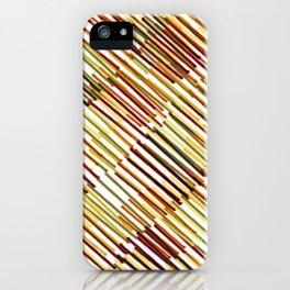 hashmark tan iPhone Case