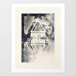 AURORA BOREALIS#01 Art Print