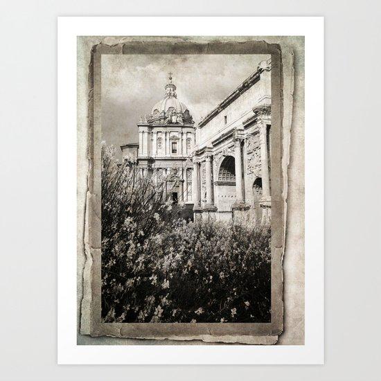 in Roma Art Print