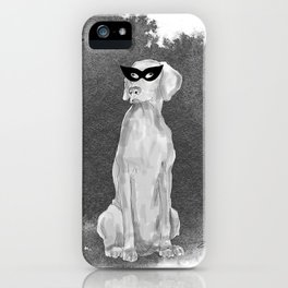 HOOOOOOWLOWEEN WEIMARANER iPhone Case